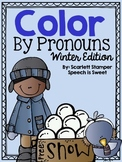 Color By Pronouns: Winter Edition