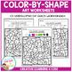 Color By Shape Worksheets: Art