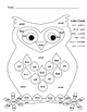 Owl Color By: Color Words OR Sight Words