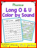 Color By Sound! Long o & u sound (silent e)