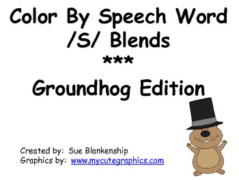 Color By Speech Word for /S/ Blends