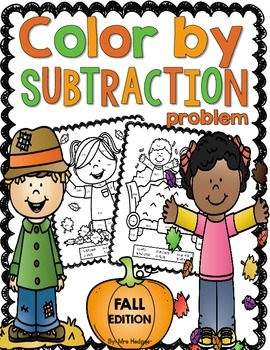 Color By Subtraction Problem-Fall Edition