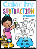 Color By Subtraction Problem-Spring Edition