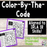 Color By The Code Phonics Skills Aligned to IRLA 1 Blue