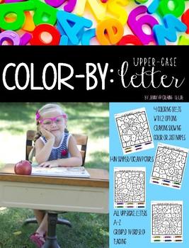Color By: Upper Case Letter
