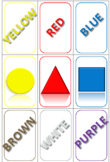 Color Card Memory Game