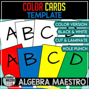 Color Card Template