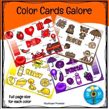 Color Cards Galore