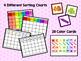 Sorting: Mini Color Sorting Chart