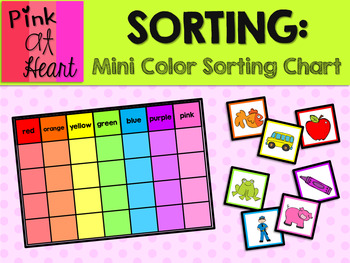 Color Cards MINI Sorting Chart