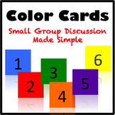 Color Cards: Small Group Discussion Made Easy