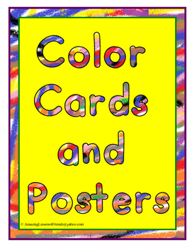 Color Cards and Posters