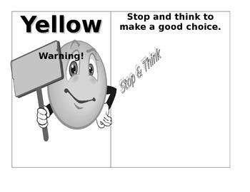 Color Cards -behavior management