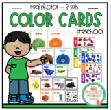 Color Cards with Real Photos 3 sets