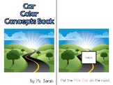 Color Cars Adapted Book