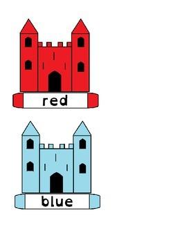 Color Castles Reading US version