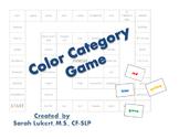 Color Category File Folder Game