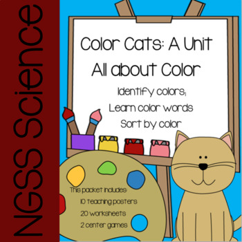Color Cats: Color Activities and Lessons (Posters, Worksheets, Games)