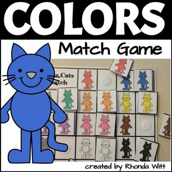 Color Cats: Color Matching Game