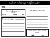 Color Change Reflection Sheet
