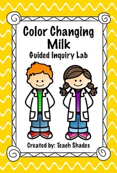 Color Changing Milk Guided Inquiry Matter Lab