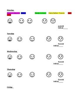 Color Chart Checklist