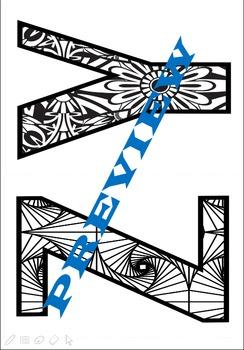 Color Classics - Alphabet Patterns