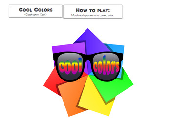 Color Classification 2 File Folder
