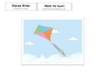 Color Classification File Folder