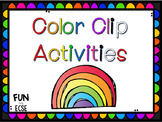 Color Clip Activities