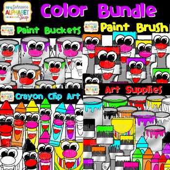 Color Clip Art Bundle {Mrs. Johnson's Alphabet Soup}