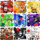 Color Clip Art BUNDLE (192 IMAGES!)