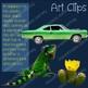Color Clip Art Green True Colors Photo & Artistic Digital Stickers