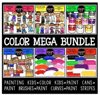 Color Clip Art Mega Bundle