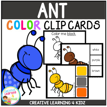 Color Clip Cards: Ant