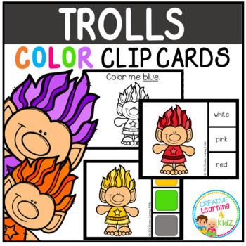 Color Clip Cards: Bundle 1