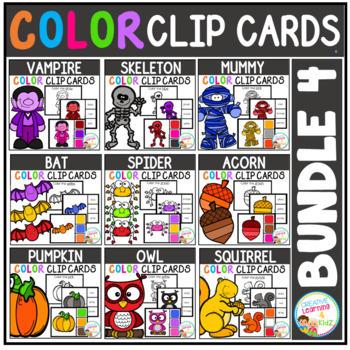 Color Clip Cards: Bundle 4