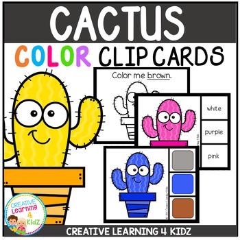 Color Clip Cards: Cactus