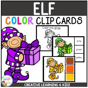 Color Clip Cards: Christmas Elf