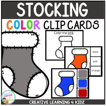 Color Clip Cards: Christmas Stocking