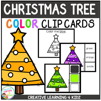 Color Clip Cards: Christmas Tree