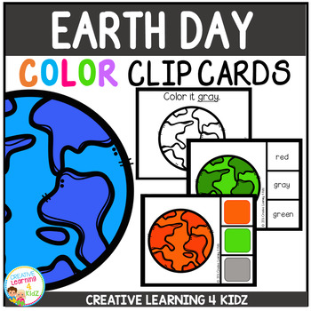 Color Clip Cards: Earth Day