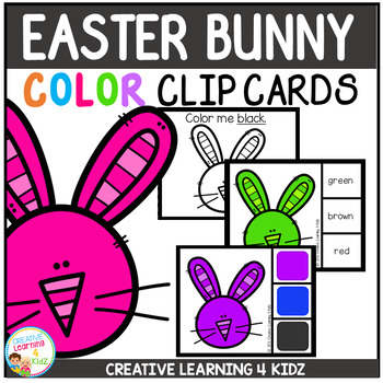 Color Clip Cards: Easter Bunny