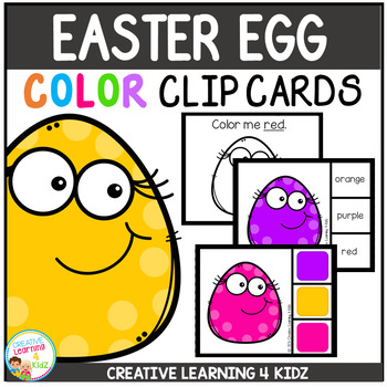 Color Clip Cards: Easter Egg