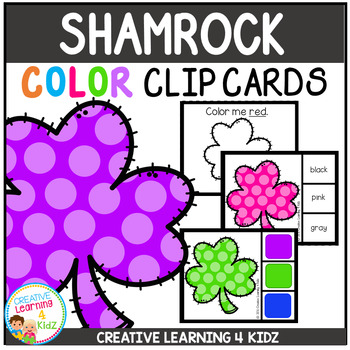 Color Clip Cards: St. Patrick's Day Shamrocks