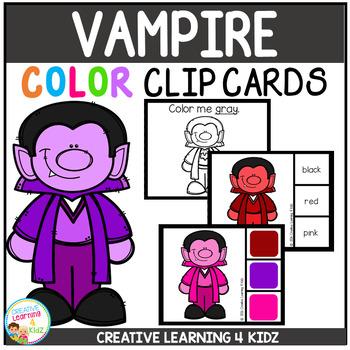 Color Clip Cards: Vampire