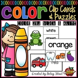 Color Clip Cards and Puzzles