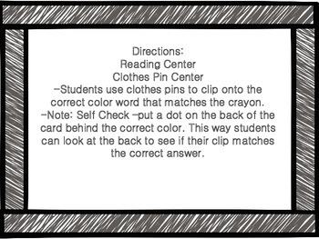 FREE! Color Clip Center
