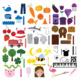 Color Clip art: Bundle