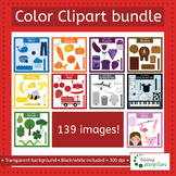 Color Clip art: Bundle